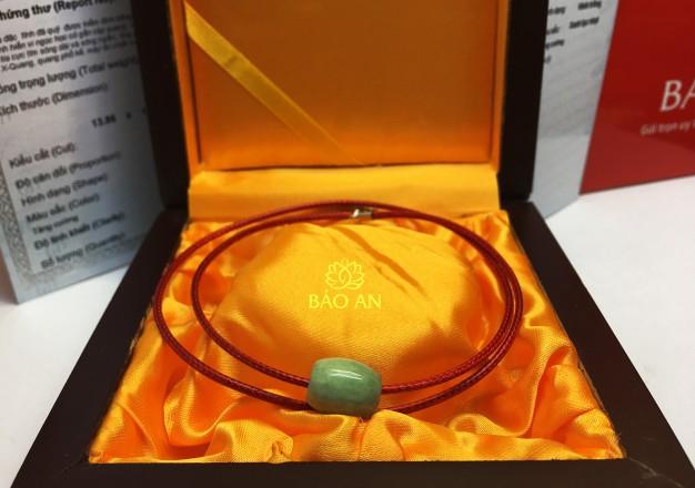Lu Thống Ngọc Cẩm thạch Jadeite  – LT01