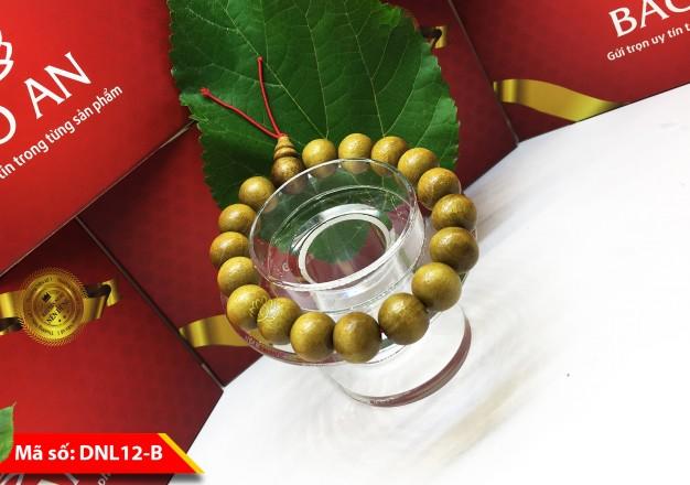 Mẫu Vòng dâu tằm Hạt 12mm Dành Cho Nam Giới – DNL12-B